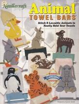 Animal Towel Bars, Plastic Canvas Pattern Booklet TNS 913310 Bathroom Ho... - $3.95