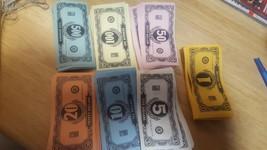 "406 PIECES for 1936 ""EASY MONEY"" BOARD GAME #4457 Milton Bradley - $6.43"