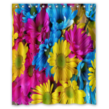 Autumn Design #09 Shower Curtain Waterproof Made From Polyester - $29.07+