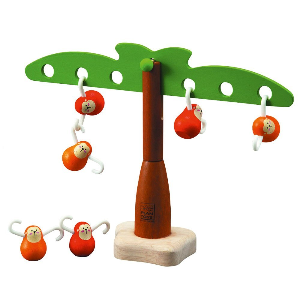 Plan Toy Balancing Monkeys