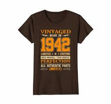 Funny Shirts - Legends Vintage Made In 1942 76th Birthday Gift 76 years old Wowe image 5