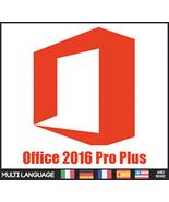 Microsoft Office 2016 Pro Plus Key & Download 32/64 Bit -Multi Language - $10.90