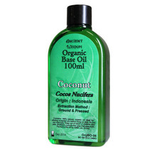 Coconut 100ml Organic Base Oil 100% Natural Aromatherapy Wellbeing Gift ... - $16.89