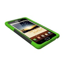 Trident Aegis Case, Samsung GALAXY Note, Black/Green - $16.00