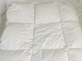 "Northern Nights White Cotton Down Comforter Full Queen 86"" x 86"" image 2"