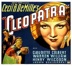 CLEOPATRA, 1934 - $19.99