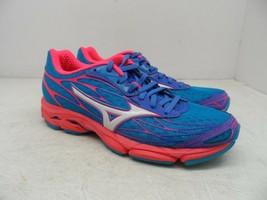 Mizuno Women's Wave Catalyst Running Shoe Atomic Blue/White 6M - $64.12