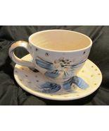E Bode Ceramic Cup And Saucer Set - $5.99