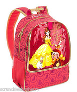 Disney Store Belle Backpack Book Bag Beauty and... - $69.95