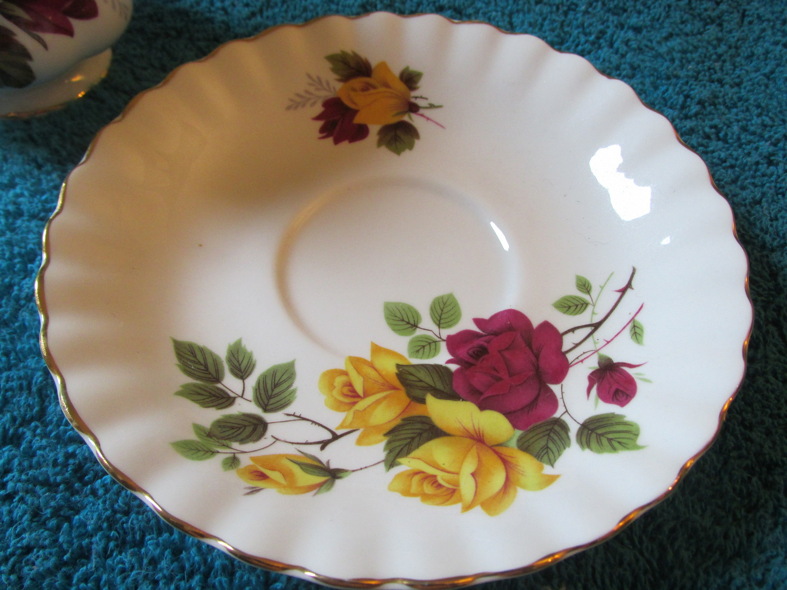 Hamilton Made In England Bone China Cup And Saucer Set