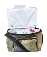 Outdoor Camo Insulated Cooler Bag, Camp Hiking ... - $11.95