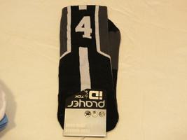 Player ID by TCK PCN MED #4 TWI 1 sock black charc vollyball basketball soccer - $19.78