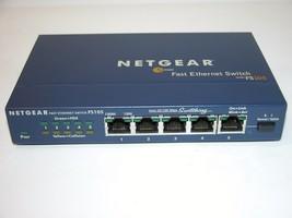 Netgear FS105 5 Port Fast Ethernet Switch 10/100 Mbps - $24.99
