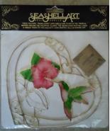 Seashell Art Hummingbird & Flower Window Art By... - $19.99