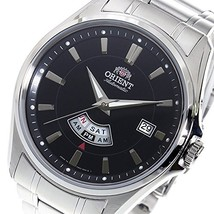 ORIENT Men's Black dial Automatic watch SFN02004BH Made in Japan - $175.73