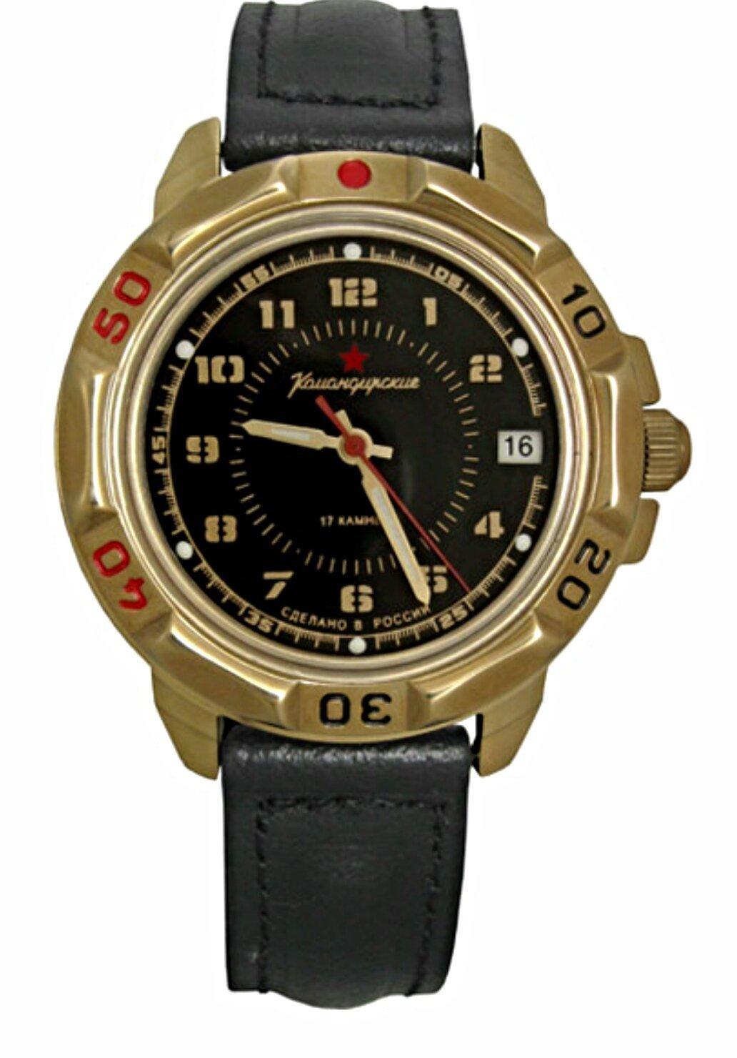 Vostok Komandirskie 439123 / 2414A Military Military Komandirskie Commander W... - $45.11