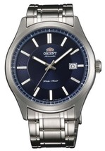 Orient #ER2C005D Men's Champion Stainless Steel Blue Dial Self Winding A... - $213.40