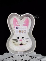 Wilton Bunny Cake Pan, #2105-2074 With Insert Step by Step Bunny Rabbit ... - $14.75