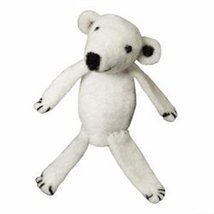 Fair Trade Finger Puppet Polar Bear - Christmas... - $10.99