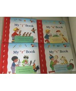 Lot of 4 My First Steps to Reading book kindergarten sight words can rea... - $14.84