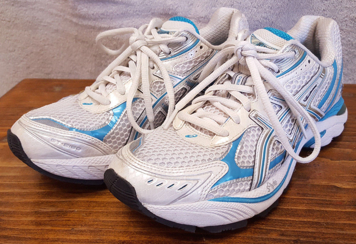 sports shoes 0db8b 5bee5 Asics Duomax Running Shoes-White Aqua and 50 similar items
