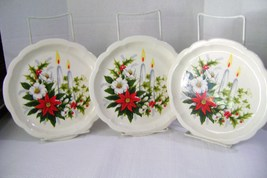 Christmas Rose Dessert / Salad Plates - $20.00