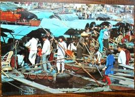 Sampans for Crossing Aberdeen Harbor Hong Kong Unused Postcard 1960s-70s? - $7.00