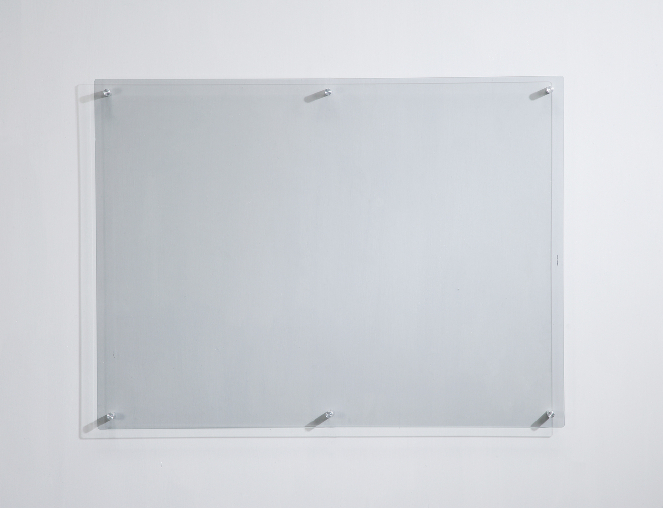 "35 ½"" x 47 ¼"" Clear Glass Dry-Erase Board"