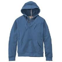 TIMBERLAND 8756J-478 PINE RIVER THREE BUTTON MEN'S BLUE HOODIE sz S - $39.59