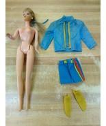 1967 Talking Mattel Barbie Made In Mexico Eyelashes Bending Knees Clothing - $123.74