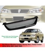 Front Grille Grill For Nissan Bluebird Sylphy / Sunny Neo / Pulsar Sedan 01 - 03
