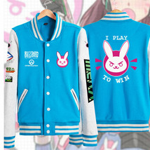 Anime Overwatch New D.VA Cosplay Costume Coat Baseball Uniform Unisex Ja... - $29.99
