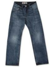 Levi's 505 Regular Fit Boy's Jeans 14 Slim 25 x 27 Straight Leg Extra Ro... - $24.74