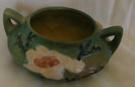 Roseville Magnolia open sugar bowl green 4-S  - $79.95