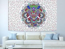 Mandala Tapestry Throw Wall Hanging Bohemian Hippie Indian Twin Bedsprea... - $19.78