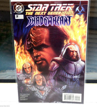 Star Trek The Next Generation Comic Book 2 Shadowheart Jan 95 - $4.94
