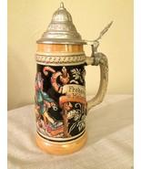 Vintage Werner Corzelius Willkommen Allezeit Frohsinn Beer Stein West Ge... - $98.99