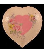 """Mikasa From My Heart Dish 6 1/4"""" Porcelain Heart Shaped Made in Japan De... - $31.18"""