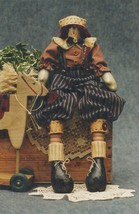 "Fruitful Hands Doll Pattern-Primitive 23"" Ragge... - $6.76"