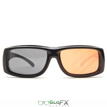 GloFX Diffraction Glasses – Interchangeable Lenses XL Wide View Limited Edition - $16.99