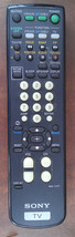 6JJ68 SONY RM-Y171 REMOTE FOR TV, VERY GOOD CONDITION - $11.66