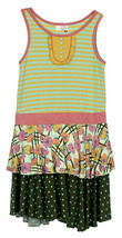 Matilda Jane Happy and Free 435 Day at the Park Tiered Dress New Tween S... - $23.75