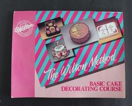Wilton Cake Decorating Book Vintage 1987 Basic Course Method Paperback - €8,65 EUR