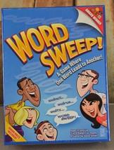 Word Sweep Board Game New Sealed Award Winning Fun Family Night Rare  - $38.60