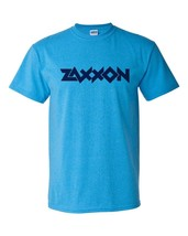 Zaxxon T-shirt retro 1980's arcade video game vintage Heather Blue graphic tee image 2