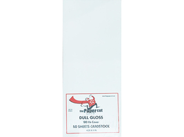 """The Paper Cut Dull Gloss 100 lb, 50 Sheets Cardstock 4.25"""" x 11"""" (Card Bases)"""