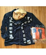 Despicable Me Gru Halloween Costume Plus Size NO PANTS Disney Outfit Used - $22.69