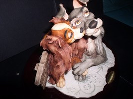 Lady and the Tramp Giuseppe Armani-Disney Figurine LE of 750 Mint COA or... - $1,200.96
