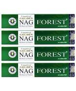 Golden Nag Forest Incense - 4 Packs, 15 Grams per Pack - $15.95