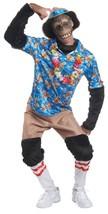 Tourist Chimp Costume Ape Monkey Adult Animal Halloween Party One Size M... - $54.99